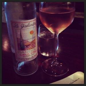 Babealicious wine at Lelabar, west village, nyc