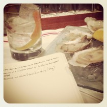 White Negroni & Happy Hour Oysters at Clarkson