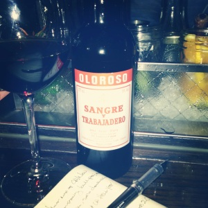 OLOROSO SANGRE TRABEJADERO Sherry, elixir of the gods, a vacation to Spain without leaving the barstool (The Beagle, nyc)