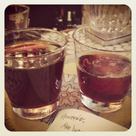 """Double Buzz"" at Amor y Amargo — weekend-only coffee+cocktail alchemy"