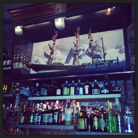Is that a whaling ship over the bar at Preserve24?