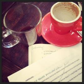 Caffeine DoubleDose, DoubleEdit session at Cafe Grumpy