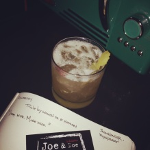Retro-ish RYE SOUR at the retro-ish Joe Doe & Misses Doe (east village)