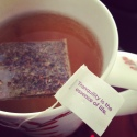 Tea tag wordsmiths  obviously do not reside in NYC.