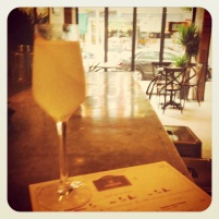French 75 at Le Jardins