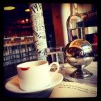 un café américain à Cantine Parisienne