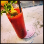 A Bloody Mary makes any hour happy...